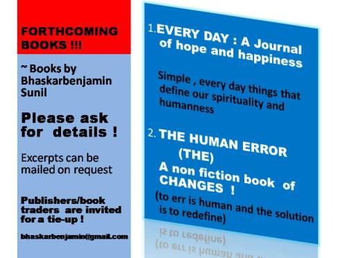 FORTHCOMING BOOKS !!!